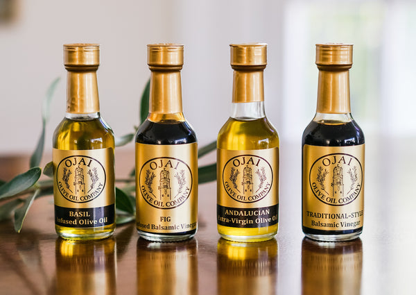 Sample Olive Oil Bottles for Welcome Amenities