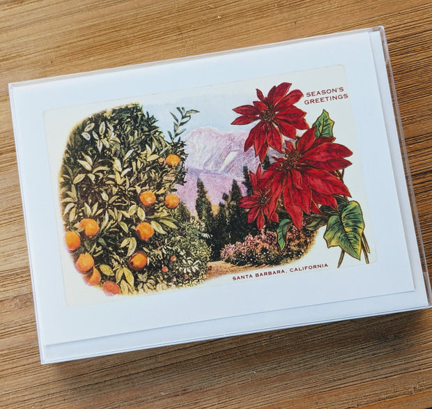 Season's Greetings Citrus Mountain Note Cards