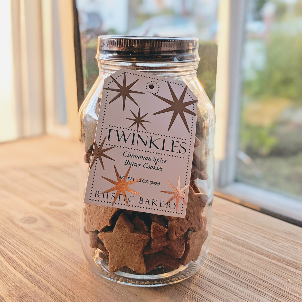 Twinkles Cinnamon Spice Holiday Cookie Jar