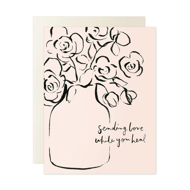 Love While You Heal Note Card