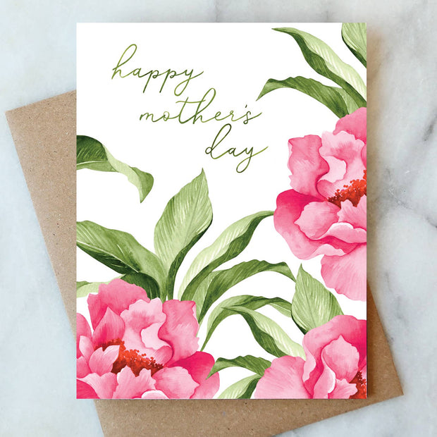 Mother's Day Blooms Note Card