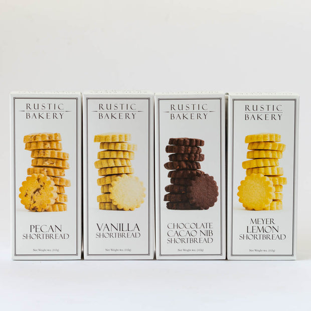 Rustic Bakery Shortbread Cookie Sampler