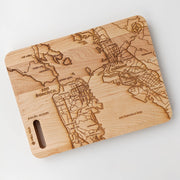Map of San Francisco Cutting Board