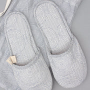 Quilted Cotton Slippers