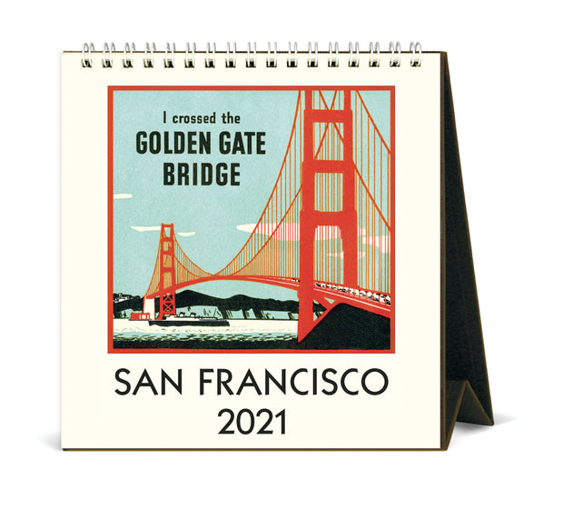San Francisco Desk Calendar