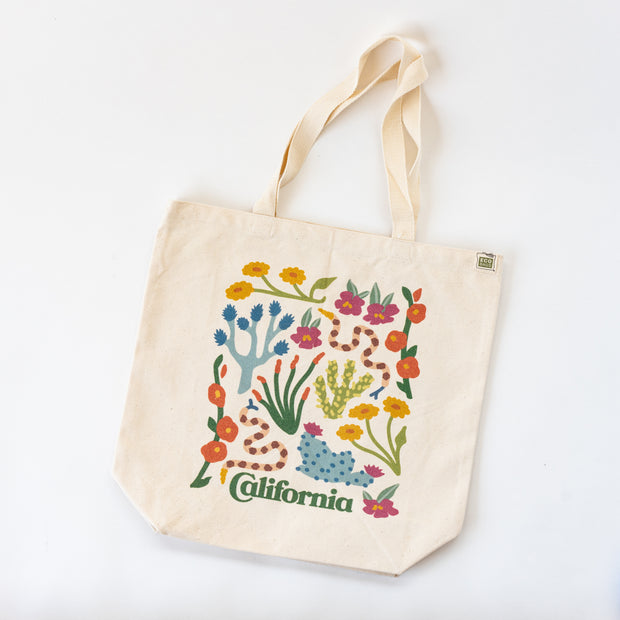 California Desert Organic Cotton Tote