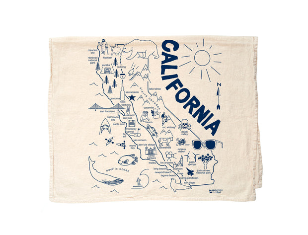 California Flour Sack Towel