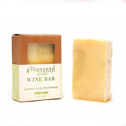 Chardonnay Organic Grape Seed Soap Wine Soap - The Grapeseed Company, The Santa Barbara Company