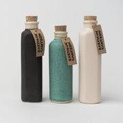 Ceramic Canteen Water Bottle in White