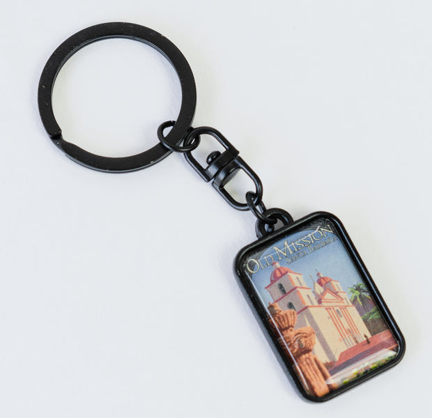 Old Mission Santa Barbara Keychain