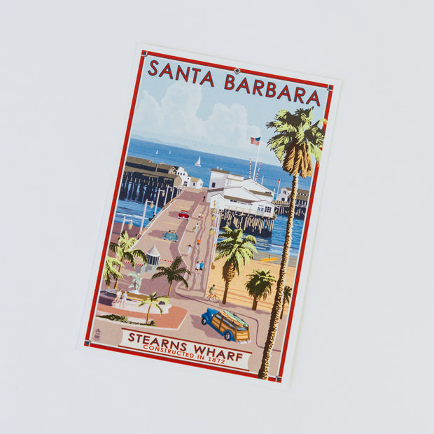 Stearns Wharf Sticker