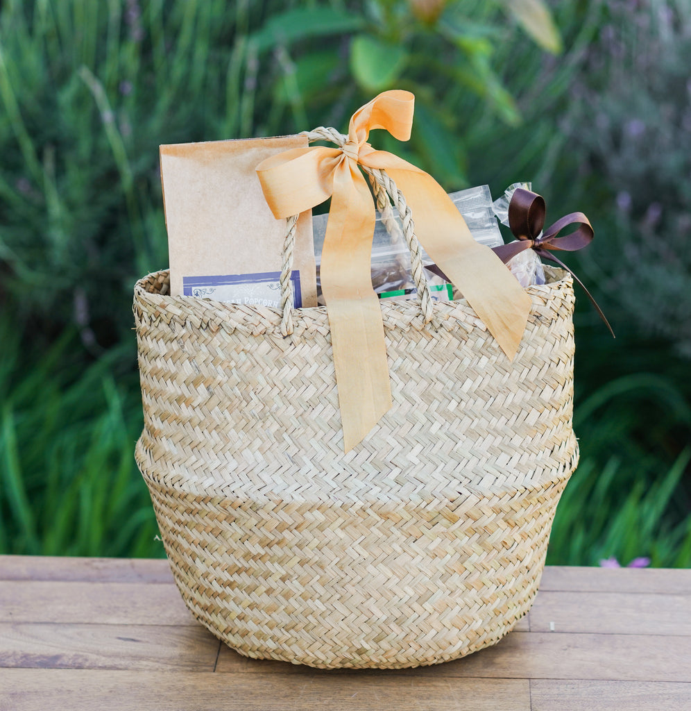 Santa Barbara Basket with Riviera Rosé