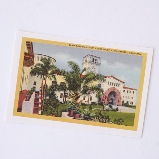 Santa Barbara Courthouse Postcard