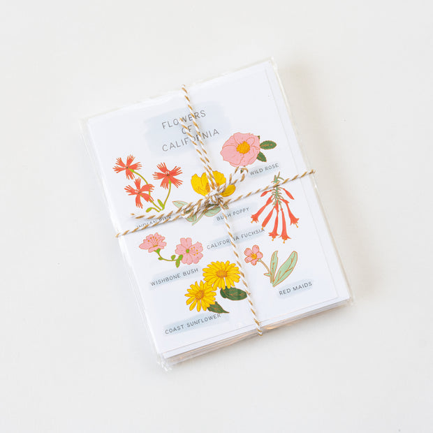 Flowers of California Note Cards
