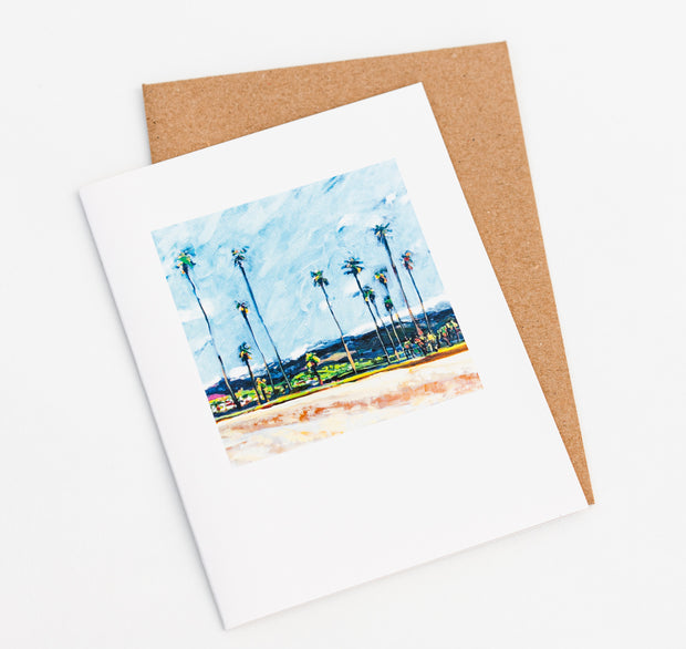 East Beach Note Card
