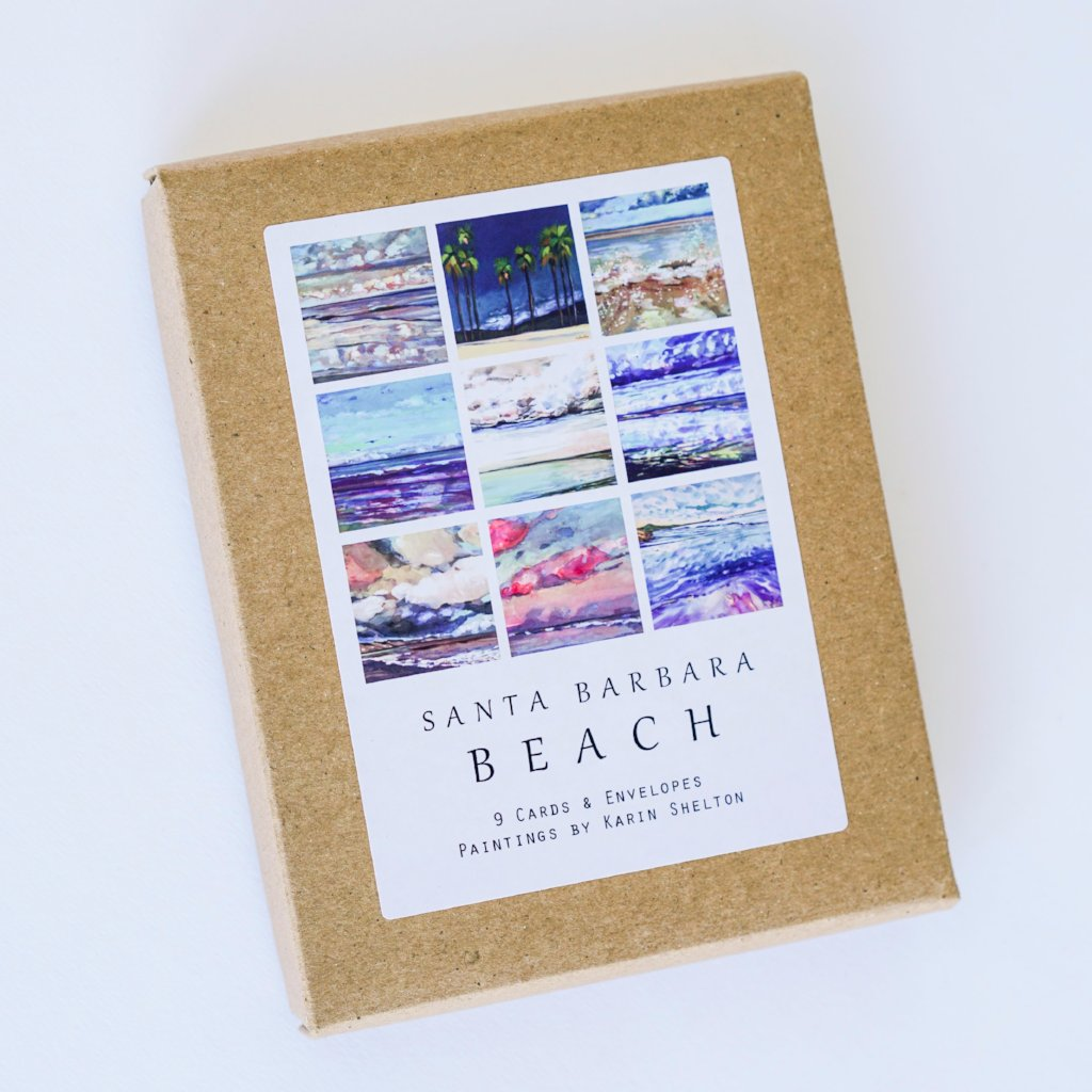 Santa Barbara Beach Note Cards
