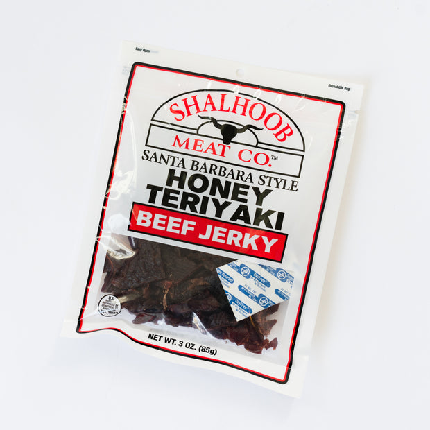 Honey Teriyaki Beef Jerky