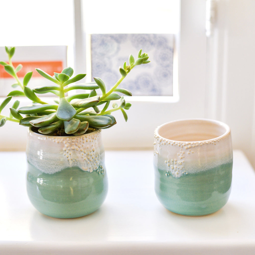 Little Barnacle Planter Pot Ceramics - Unurth, The Santa Barbara Company - 1