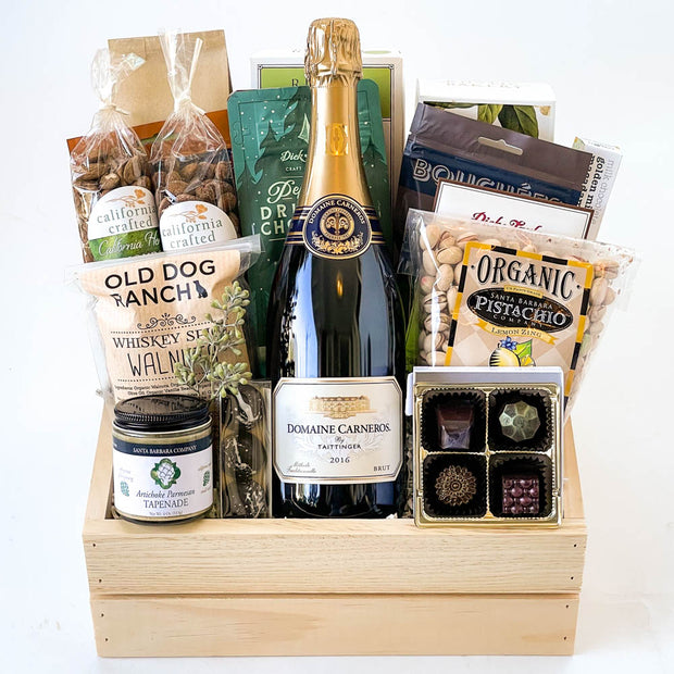 Sparkling Cheer Holiday Gift Basket