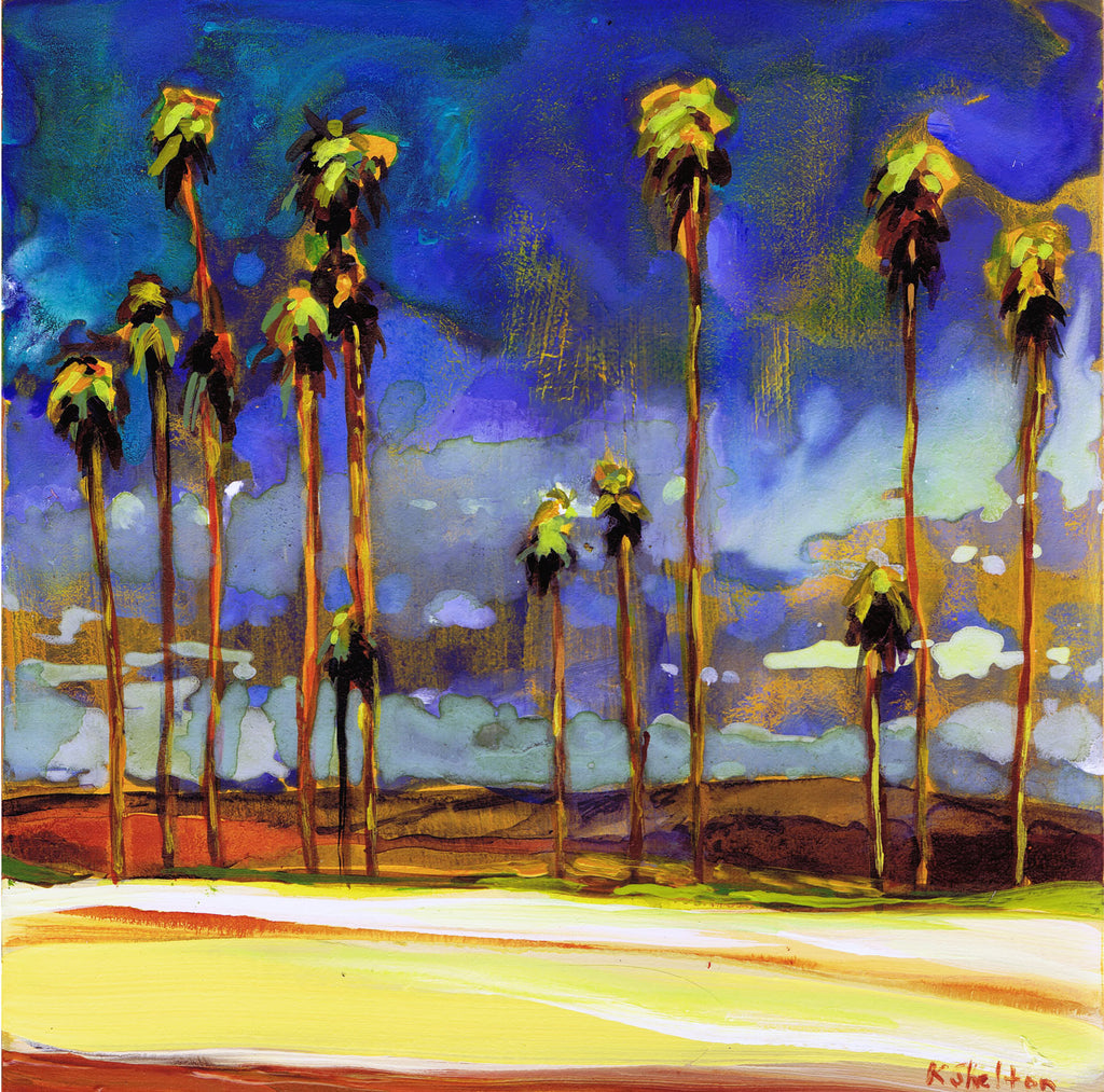East Beach Print Karin Shelton - Karin Shelton, The Santa Barbara Company