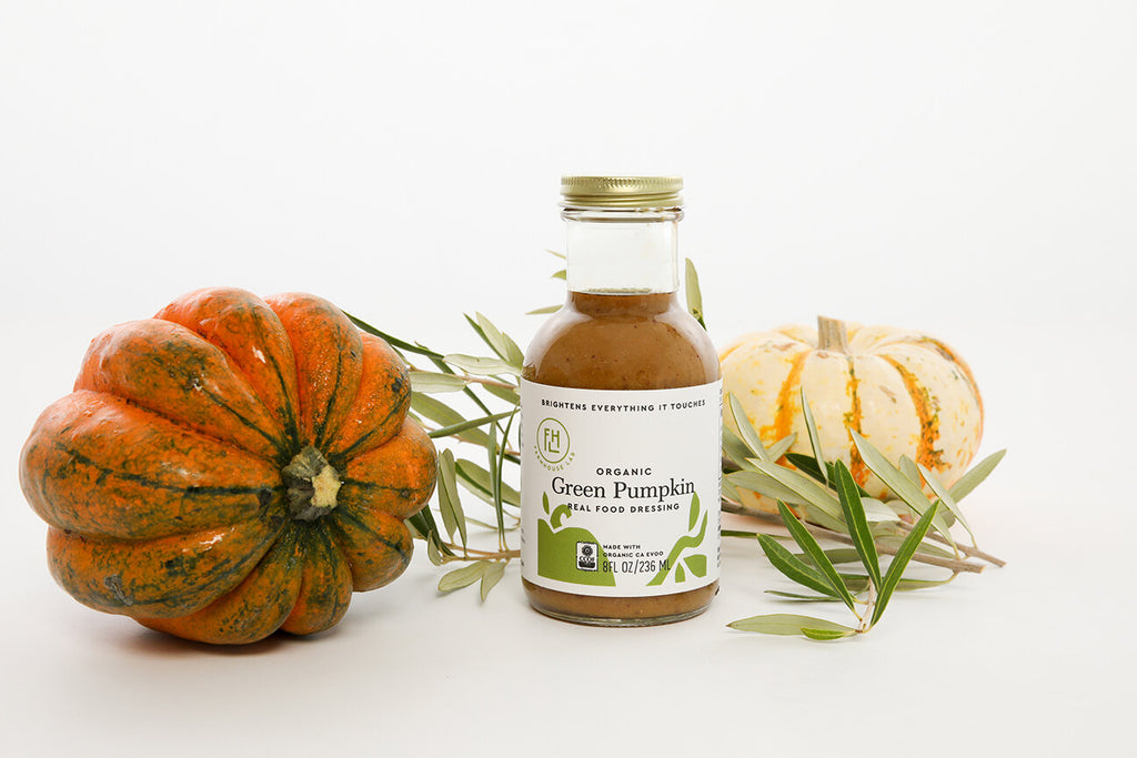 Organic Green Pumpkin Dressing