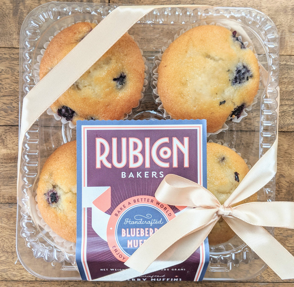 Blueberry Muffins for Local Delivery