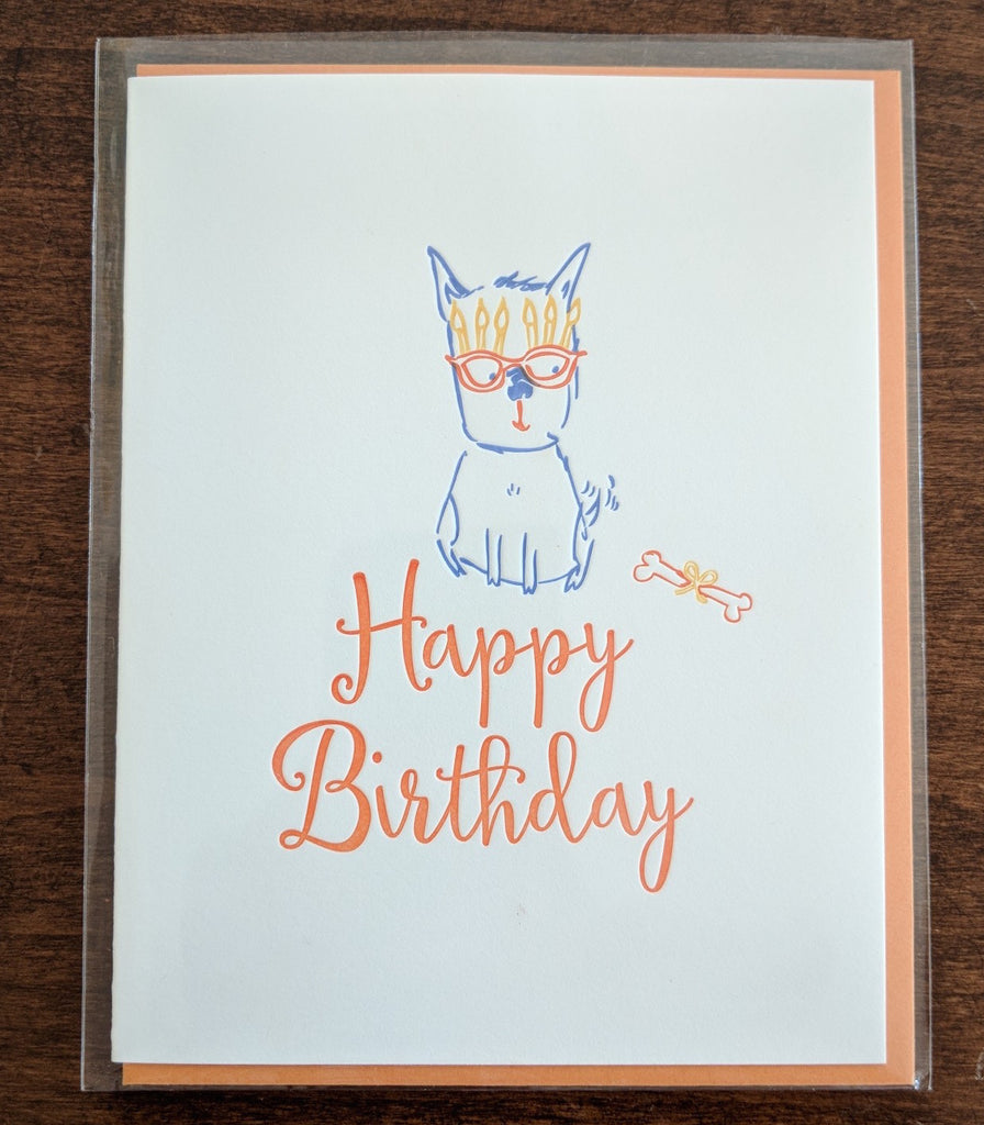 Cool Pup Birthday Note Card
