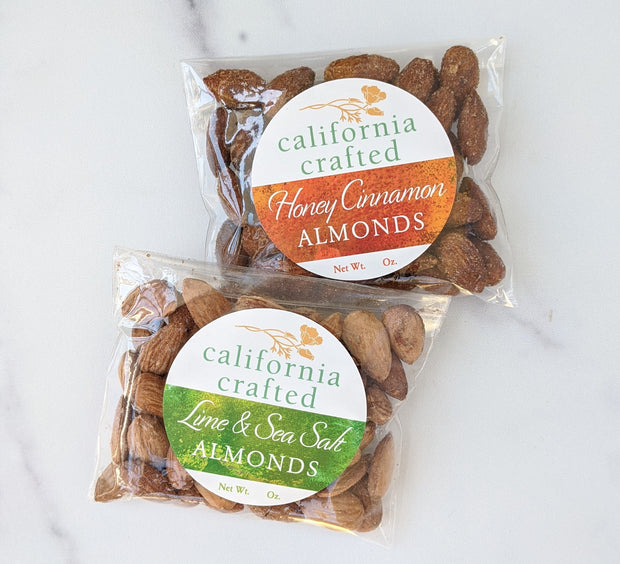 Honey & Cinnamon California Almonds - 2.5 oz