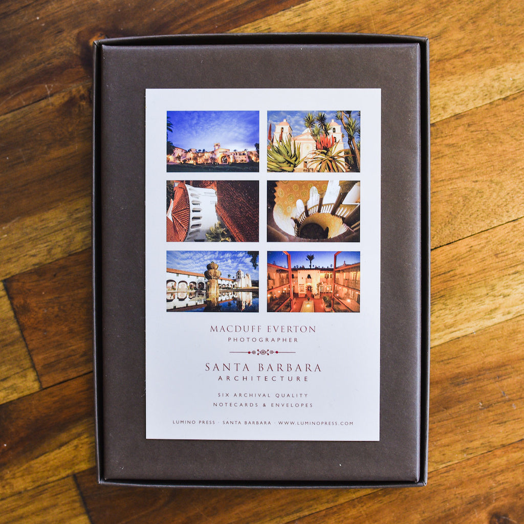 Santa Barbara Architecture Cards Santa Barbara Note Cards - Lumino Press, The Santa Barbara Company - 2