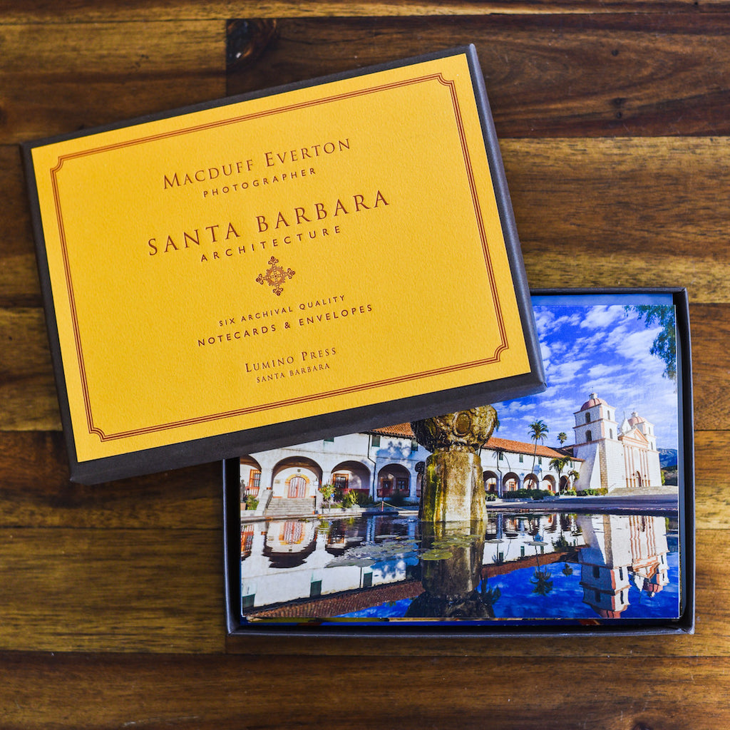 Santa Barbara Architecture Cards Santa Barbara Note Cards - Lumino Press, The Santa Barbara Company - 1