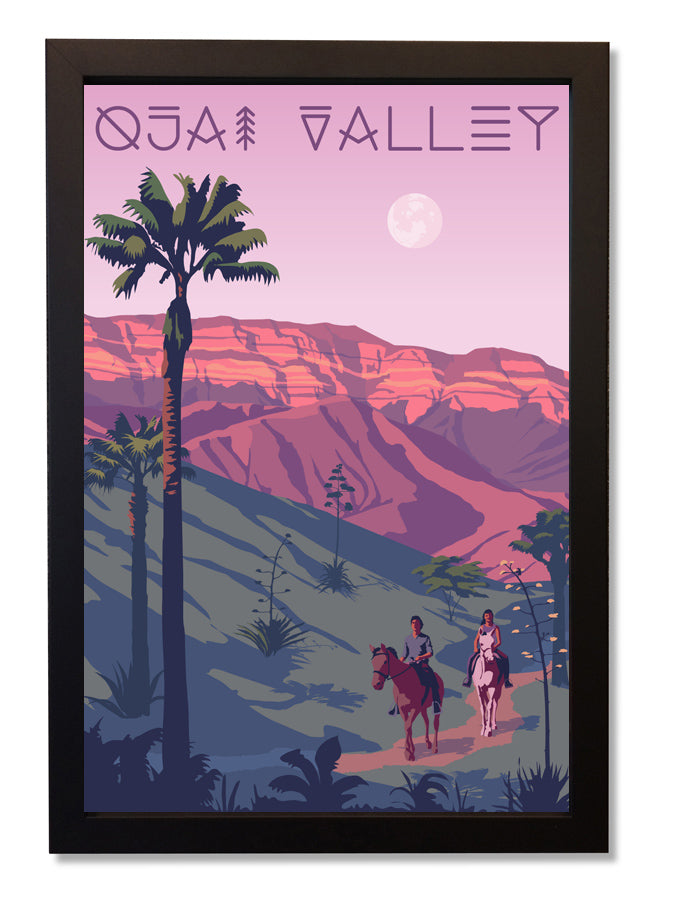 Ojai Valley Framed Print