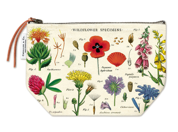 Wildflower Specimens Pouch
