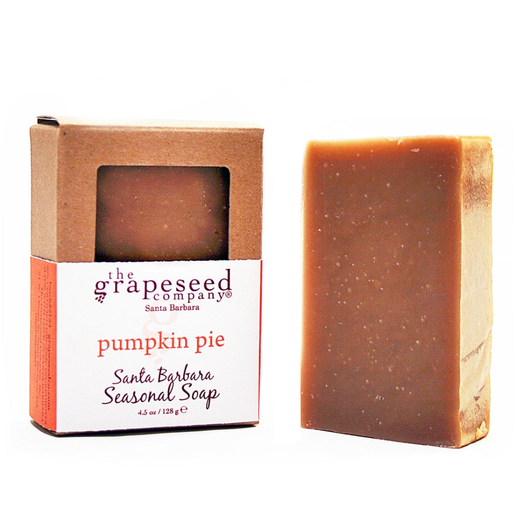 Pumpkin Pie Grapeseed Soap Wine Soap - The Grapeseed Company, The Santa Barbara Company