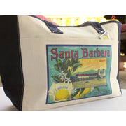 Santa Barbara Mission Citrus Tote Totes - California Citrus Company, The Santa Barbara Company - 2