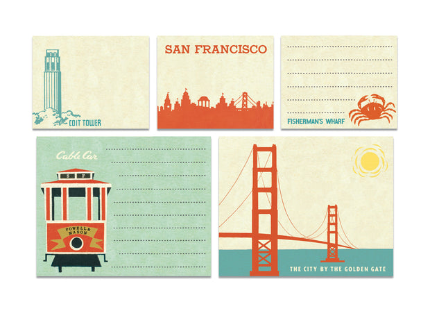 San Francisco Sticky Notes