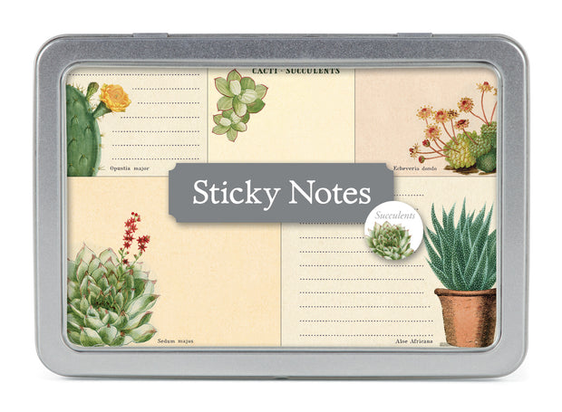 Succulents & Cacti Sticky Notes