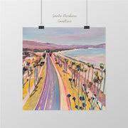 Cabrillo Boulevard Original Painting by Kate Joiner