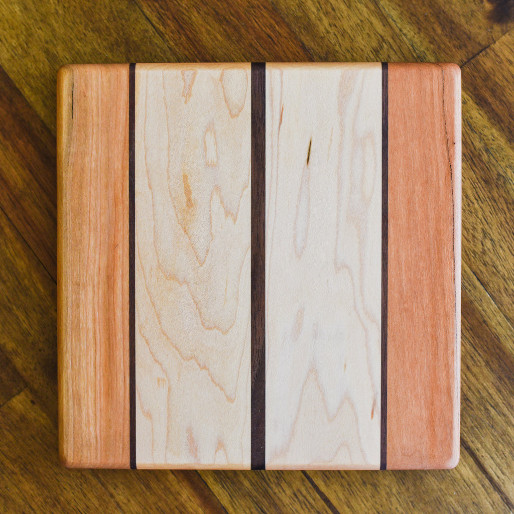 Cheese Board - Maple Square Cutting Boards - Santa Barbara Cutting Board Company, The Santa Barbara Company - 3