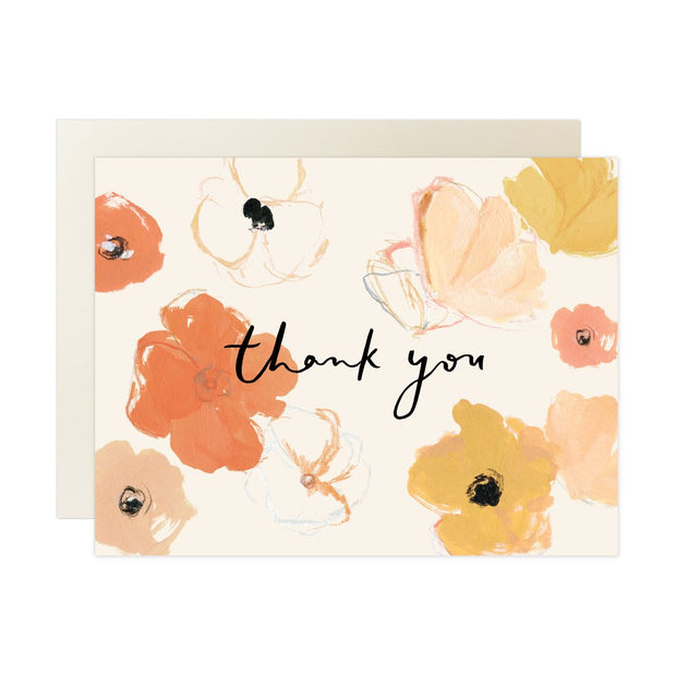 Poppy Thank You Cards