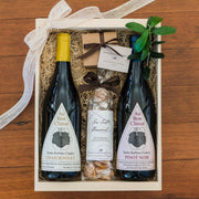 Local Wine & Chocolate Gift Box Gift Sets and Boxes - Assorted/Gifts, The Santa Barbara Company
