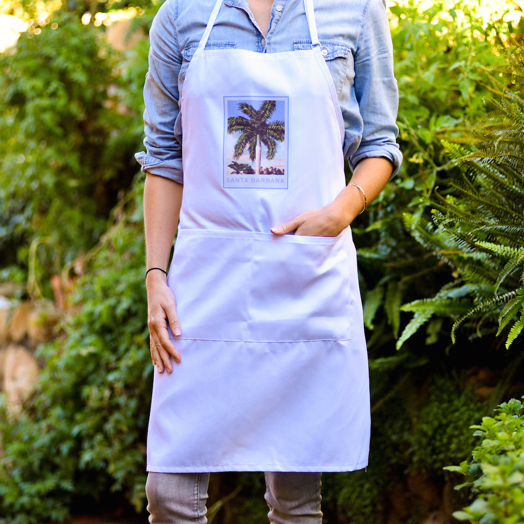 Palm Santa Barbara Apron Aprons - Pacific Swell Designs, The Santa Barbara Company