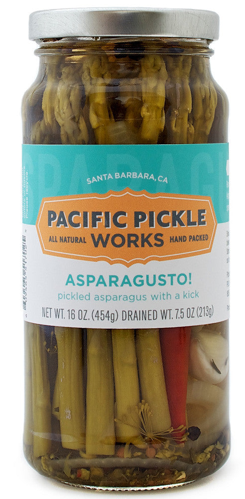 Asparagusto! Spicy Asparagus Pickles Pickles - Pacific Pickle Works, The Santa Barbara Company - 3