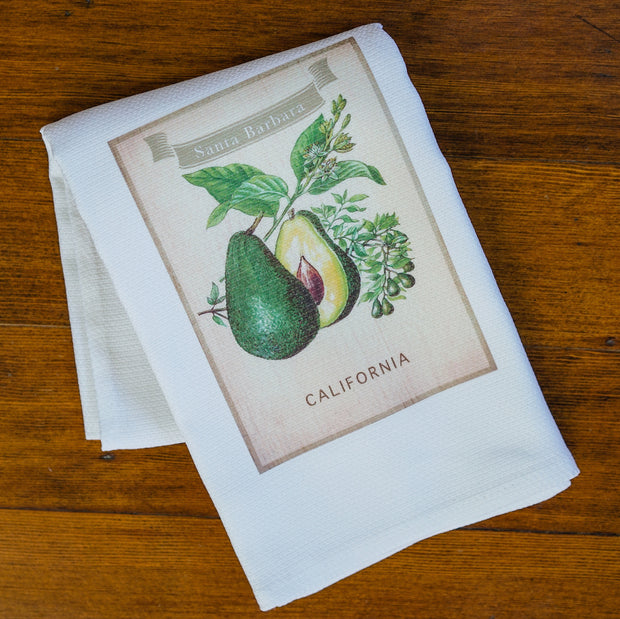 Avocado Santa Barbara Kitchen Towel