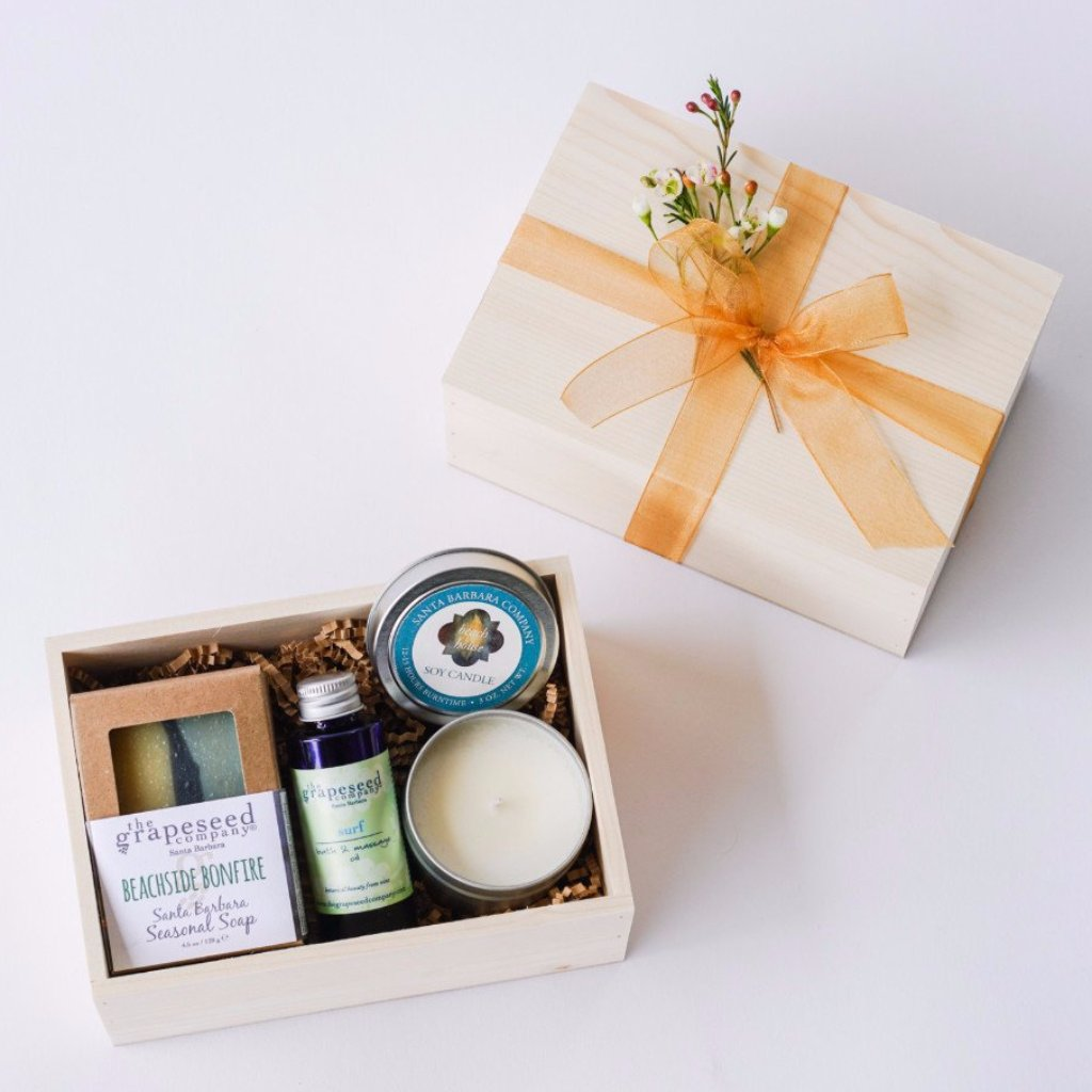 Beachside Santa Barbara Gift Box Gift Sets and Boxes - The Santa Barbara Company, The Santa Barbara Company - 1