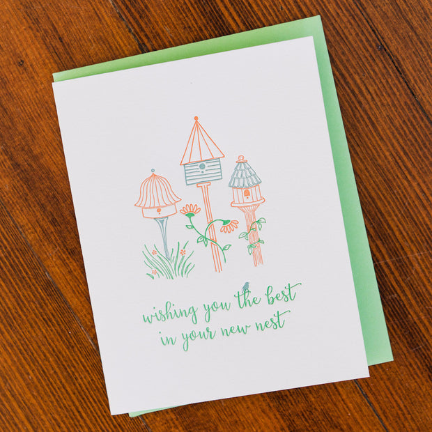 New Nest Letterpress Card Stationery and Calendars - Red Oak Letterpress, The Santa Barbara Company