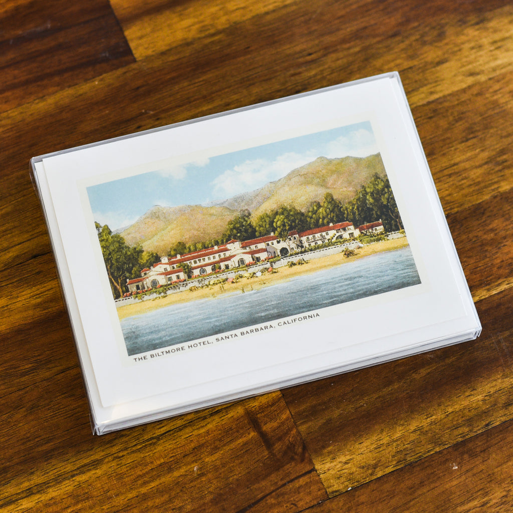 Four Seasons Biltmore Santa Barbara Note Cards Santa Barbara Note Cards - Found Image, The Santa Barbara Company - 2