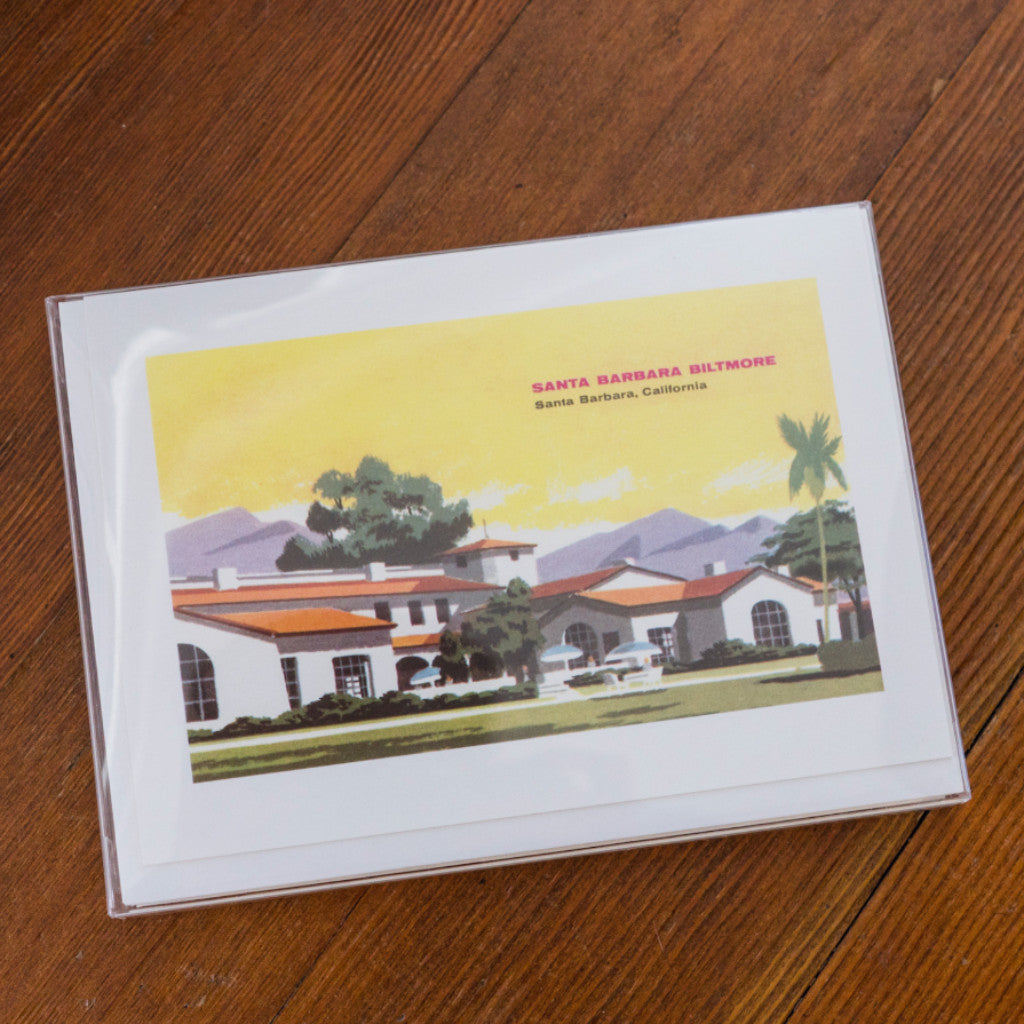 Biltmore Santa Barbara Note Cards Santa Barbara Note Cards - Found Image, The Santa Barbara Company