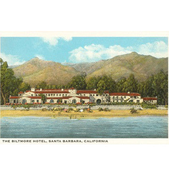Four Seasons Biltmore Santa Barbara Note Cards Santa Barbara Note Cards - Found Image, The Santa Barbara Company - 3
