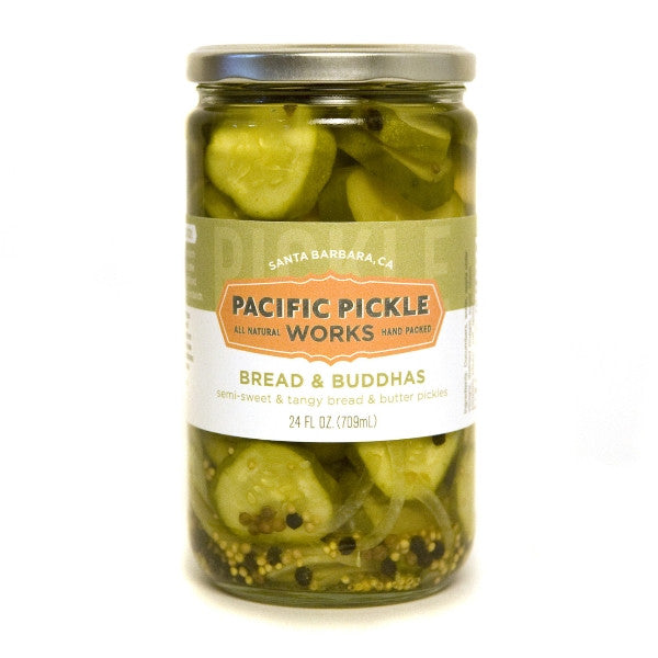 Bread and Buddhas Pickles Pickles - Pacific Pickle Works, The Santa Barbara Company - 1