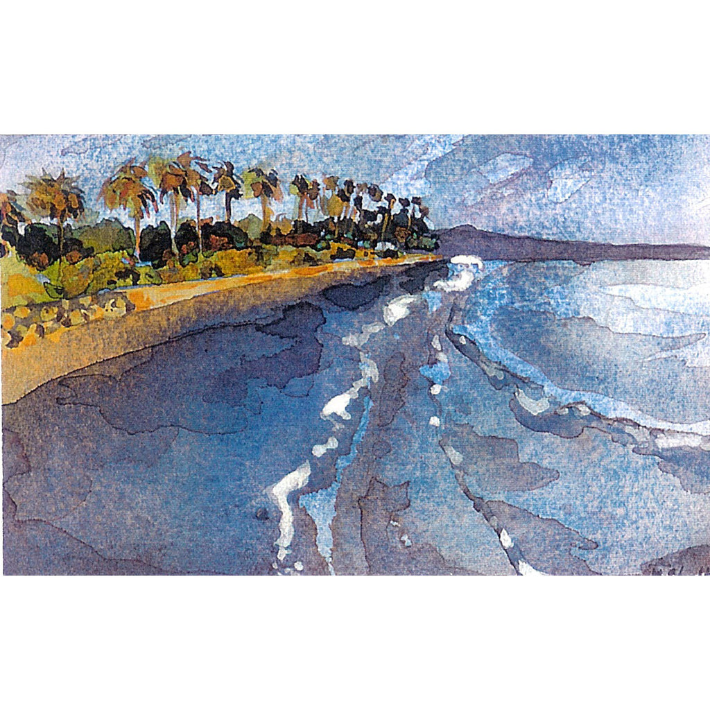 Butterfly Beach of Montecito Print Karin Shelton - Karin Shelton, The Santa Barbara Company